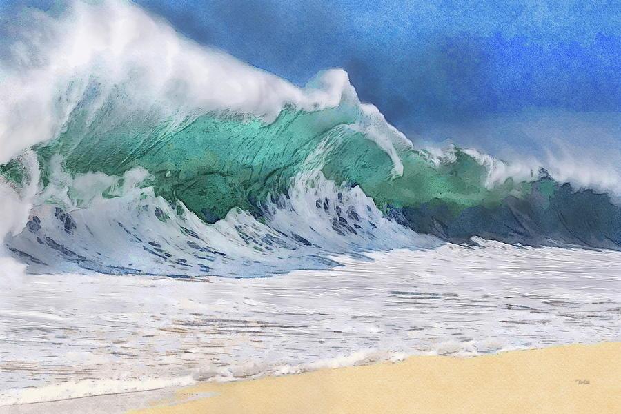 Shorebreak Wave Painting