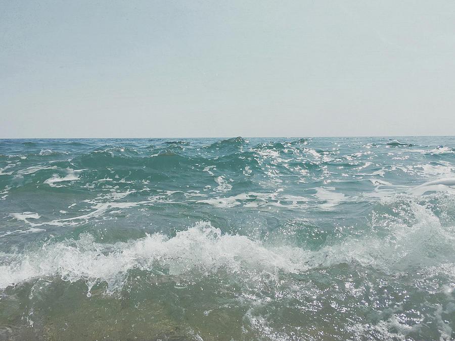Sea Photograph - Shore by Cassia Beck