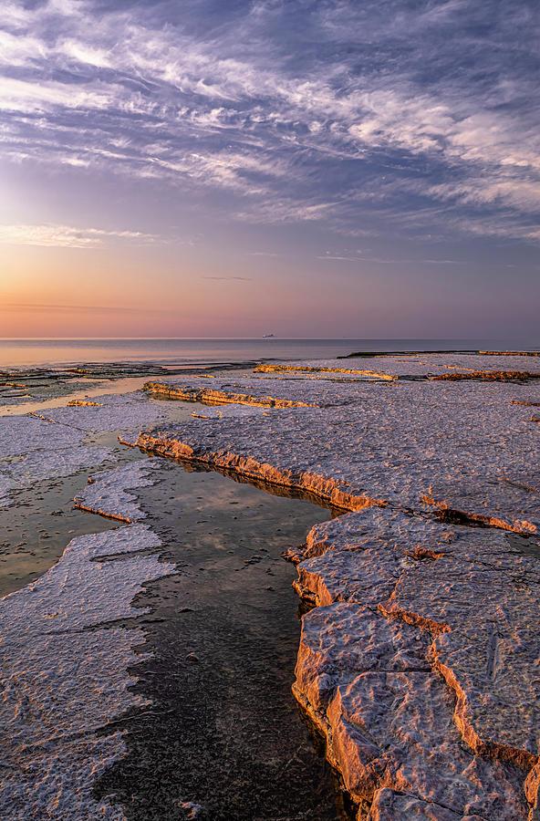 Shore Lines, Byxelkrok, Oeland Photograph