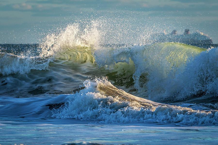 Shorebreak Spectacular Photograph