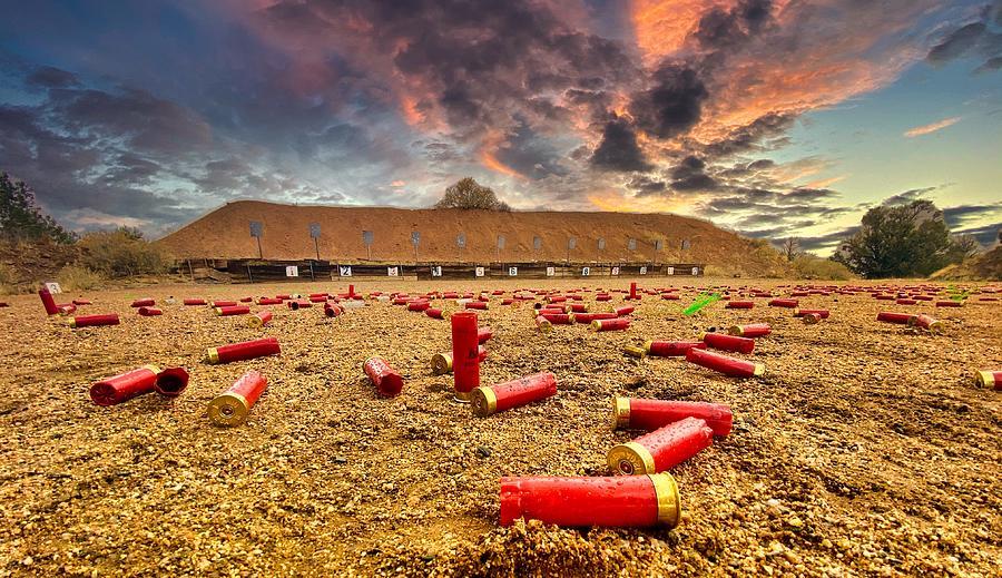 Shotgun Sunset by Tom Gresham