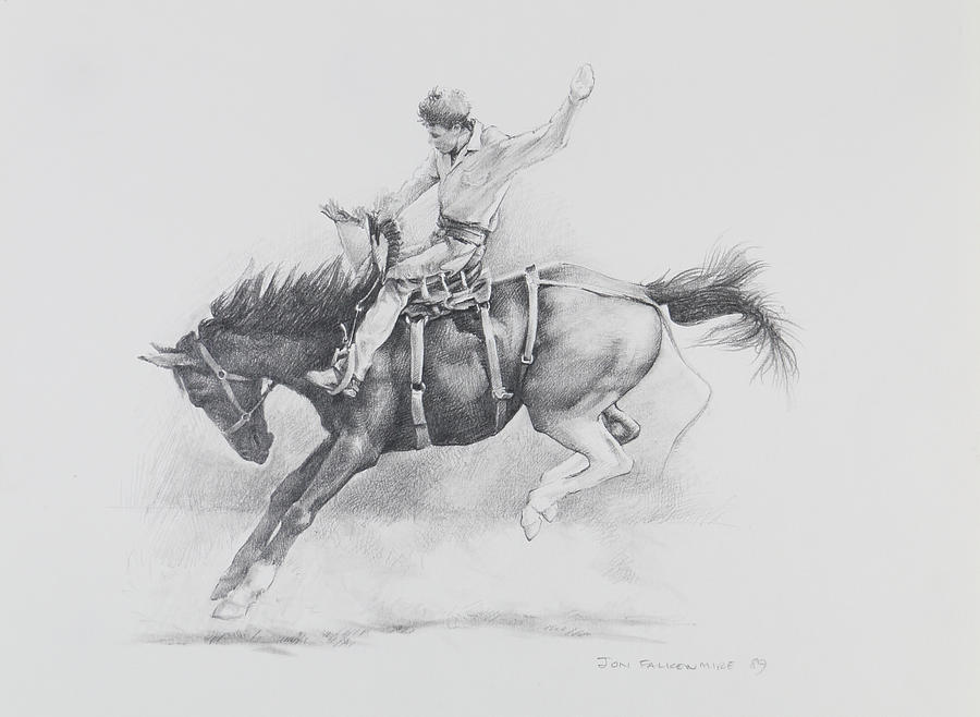 Show Jumper Drawing
