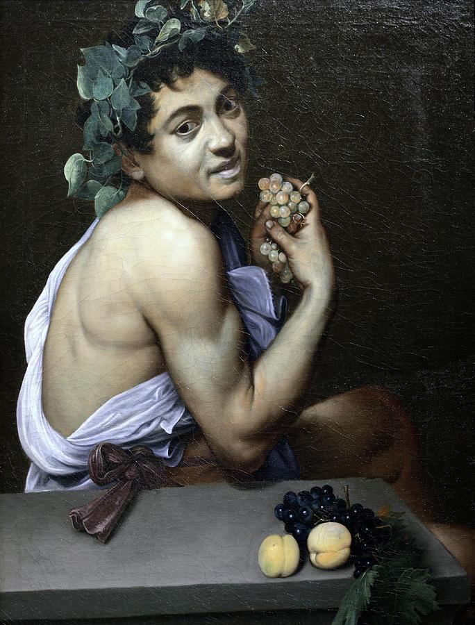 Sick Young Bacchus  by Michelangelo Merisi da Caravaggio