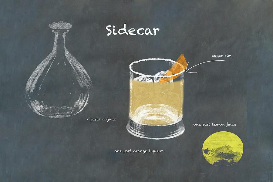 Sidecar Cocktail Photograph