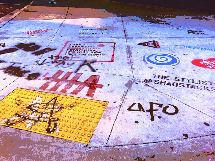 Sidewalk Talk 1 by Dominic Piperata