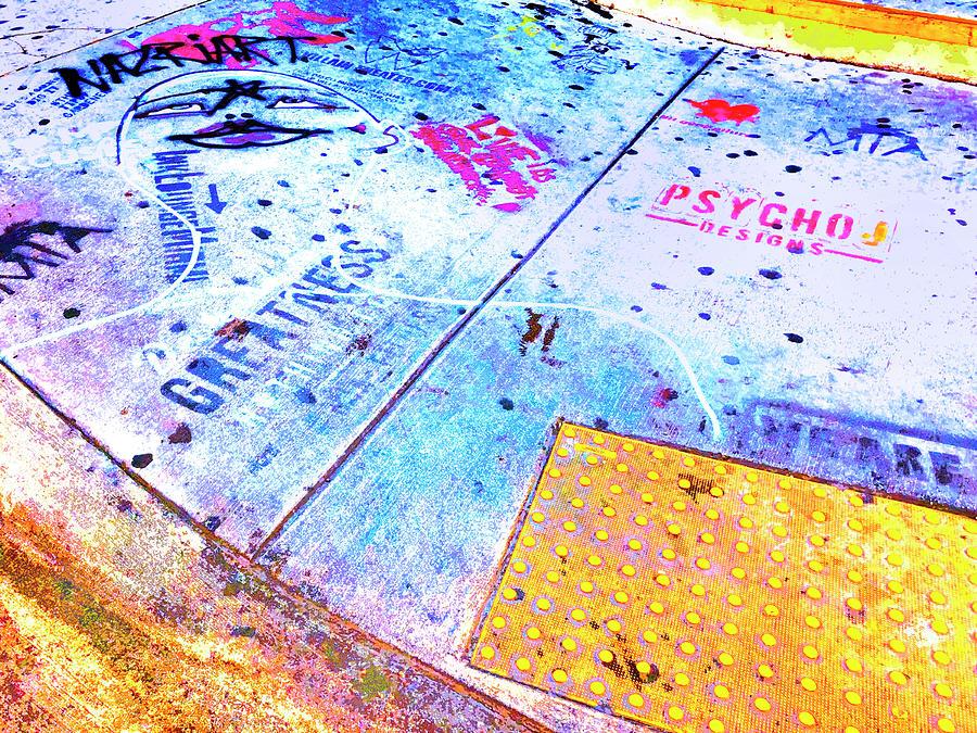 Sidewalk Talk 2 by Dominic Piperata
