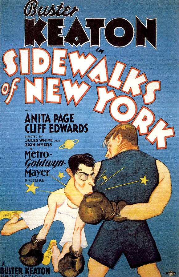 sidewalks Of New York, With Buster Keaton, 1931 Mixed Media