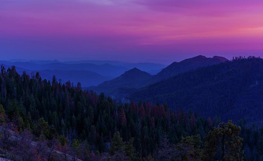 Sierra nevada sunset by Asif Islam
