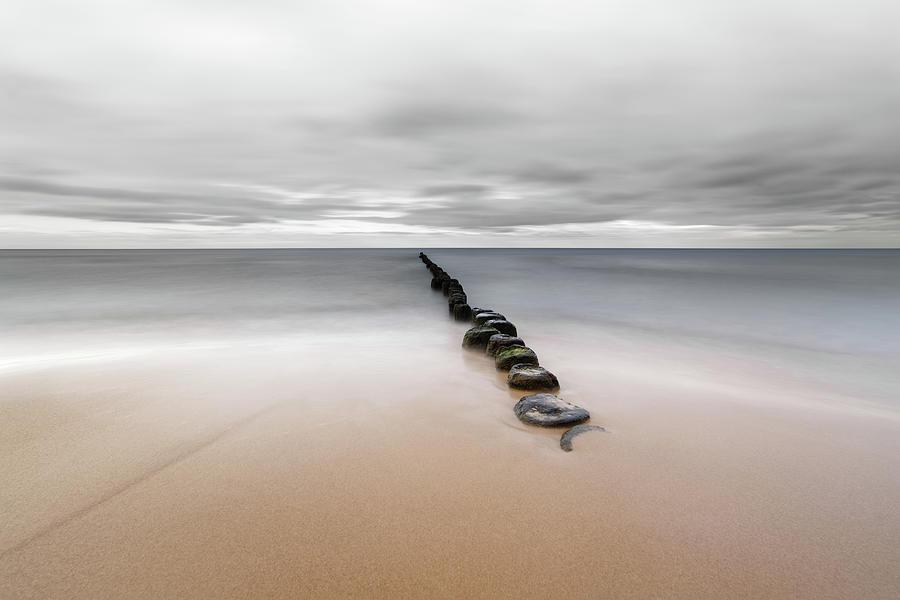 Baltic Sea Photograph - Silent coast by Ralf Lehmann
