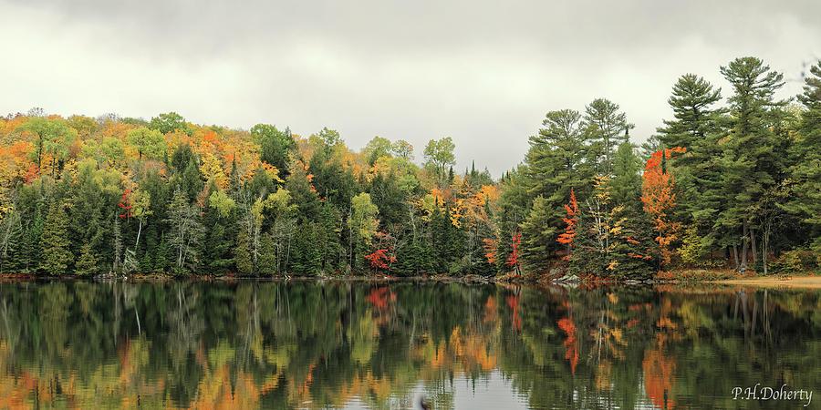 Silent Lake Reflections Photograph