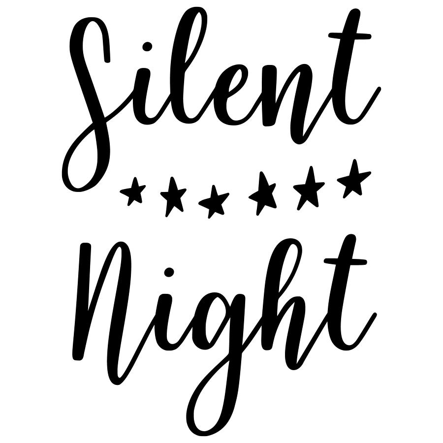 Silent Night Christmas by Passion Loft