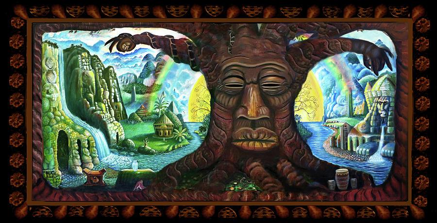 Landscape Painting - Silent Witness by Ras Jahaziel Tafari