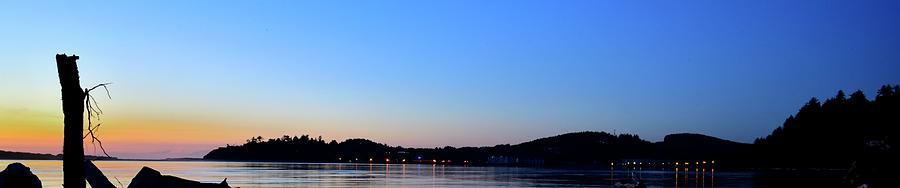 Siletz Bay Lights by Jerry Sodorff