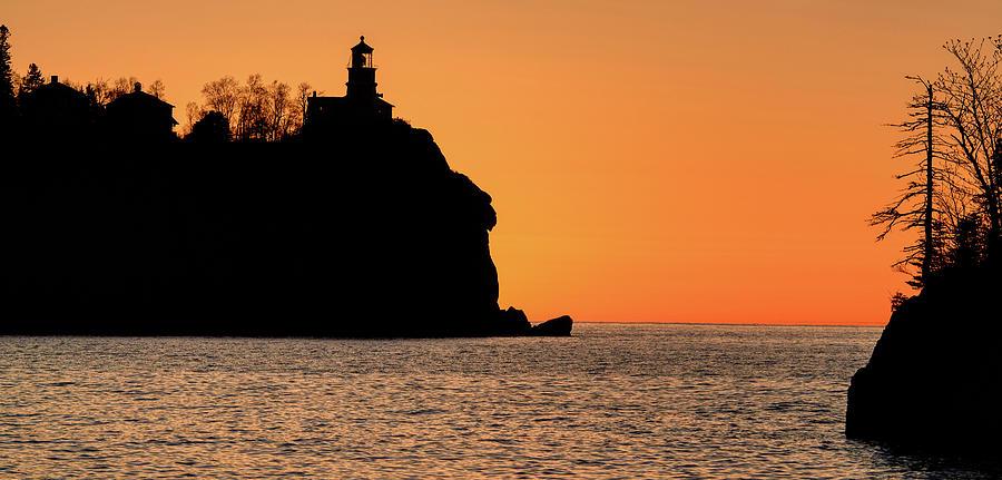 Silhouette at Split Rock by Paul Freidlund