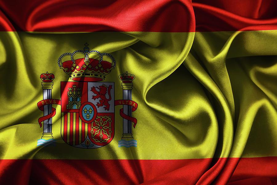 Silky Spanish Flag Photograph