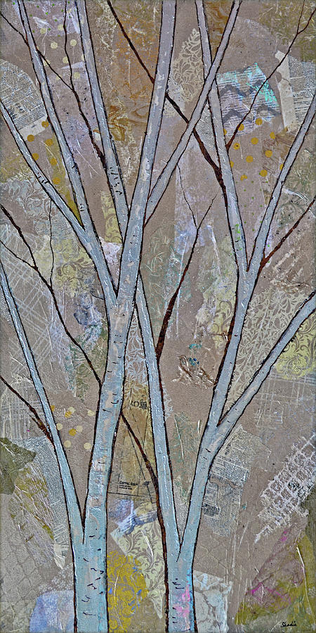 Silver Birch I Painting