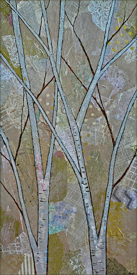 Silver Birch II Painting