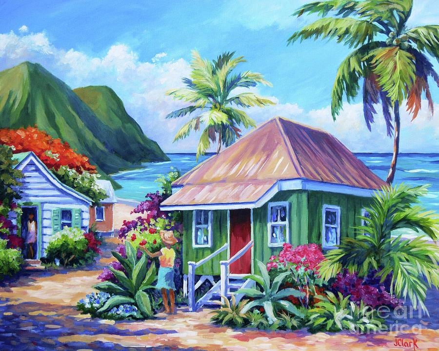 Kauai Painting - Simple Pleasures by John Clark