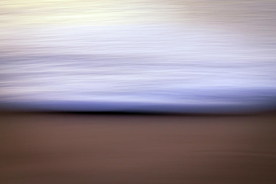 Simple Photograph - Simple Surf Abstract by R Scott Duncan