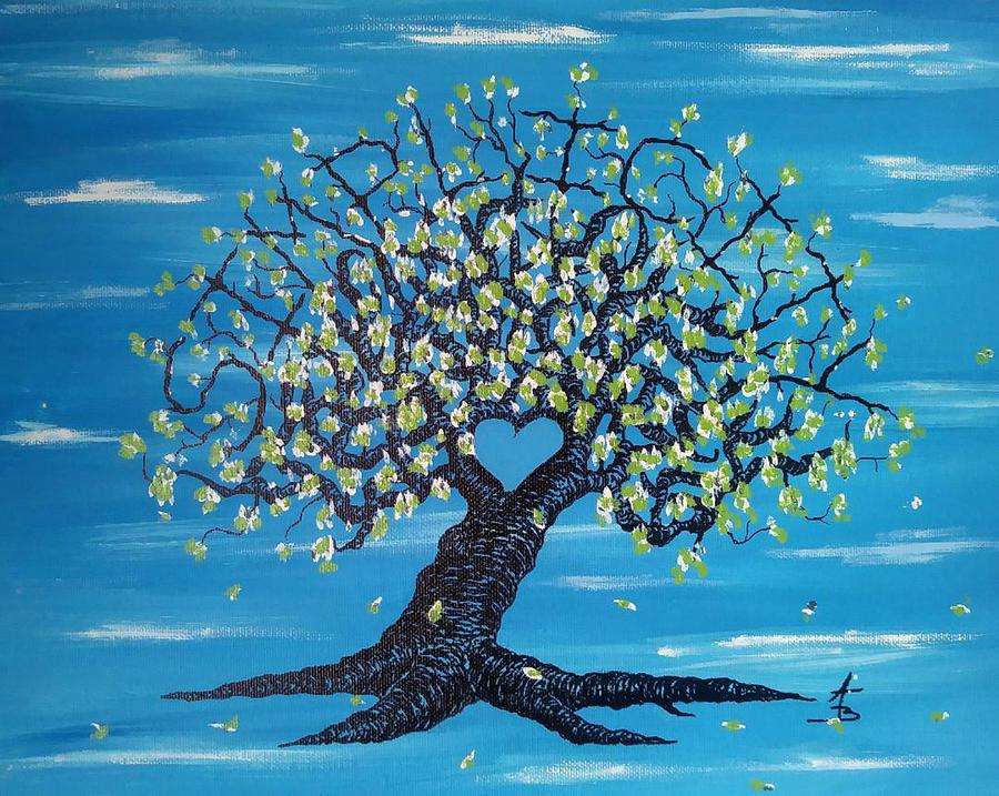 Simplicity Love Tree by Aaron Bombalicki