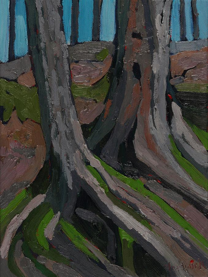 March Painting - Singleton Roots Run Deep by Phil Chadwick