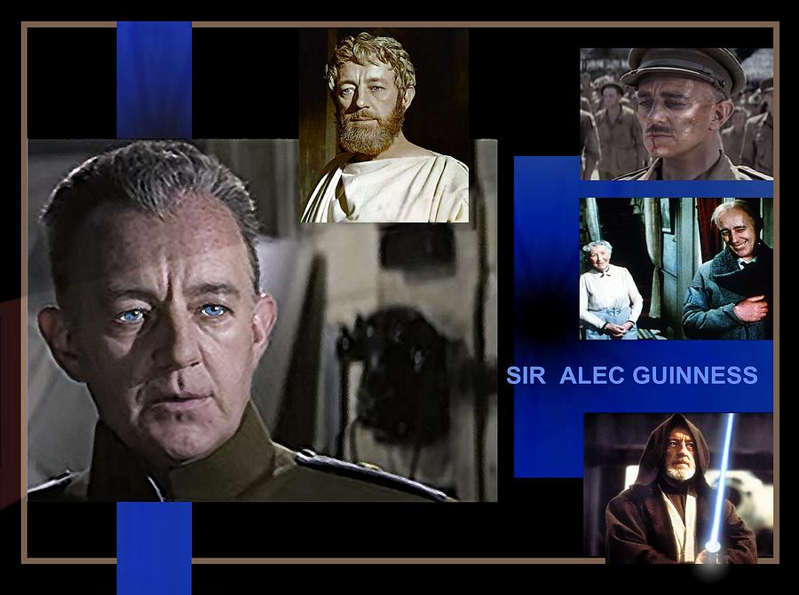 SIR  ALEC GUINNESS - ACTOR  by Hartmut Jager