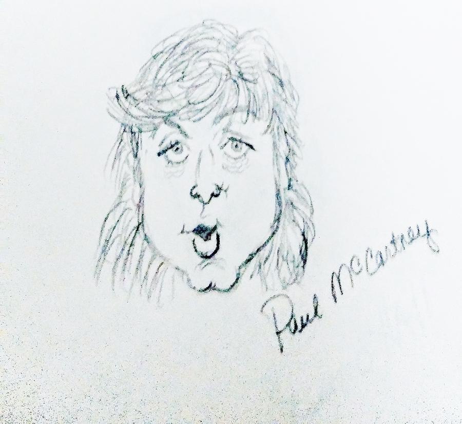 Sir Paul Mccartney Drawing
