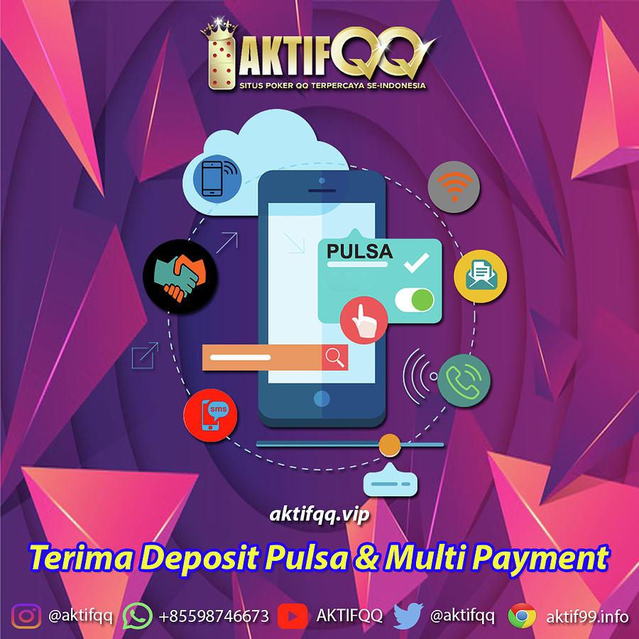 Situs Judi Online Terima Deposit Pulsa Mixed Media By Aktifqq