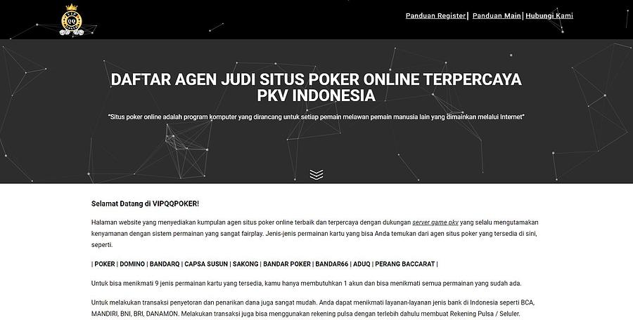 Situs Poker Online Drawing By Vipqqpoker