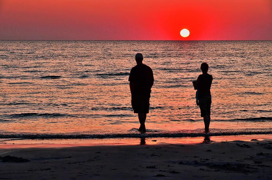 Skaket Beach Sunset 2 Photograph