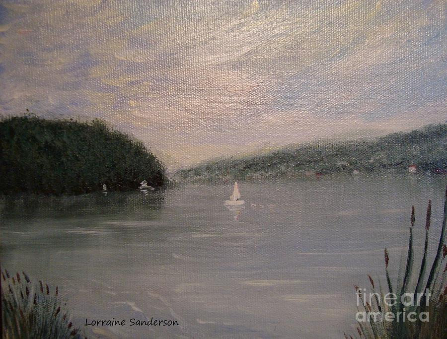 Skaneateles Lake Respite by Lorraine Sanderson