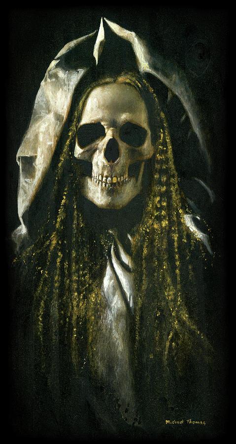 Skeletal Ghost Painting
