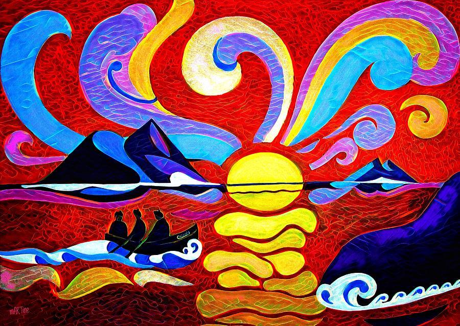 Skellig Enhanced Painting