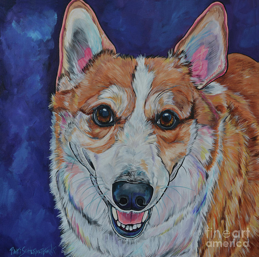 SkipperChuck The Corgi by Patti Schermerhorn