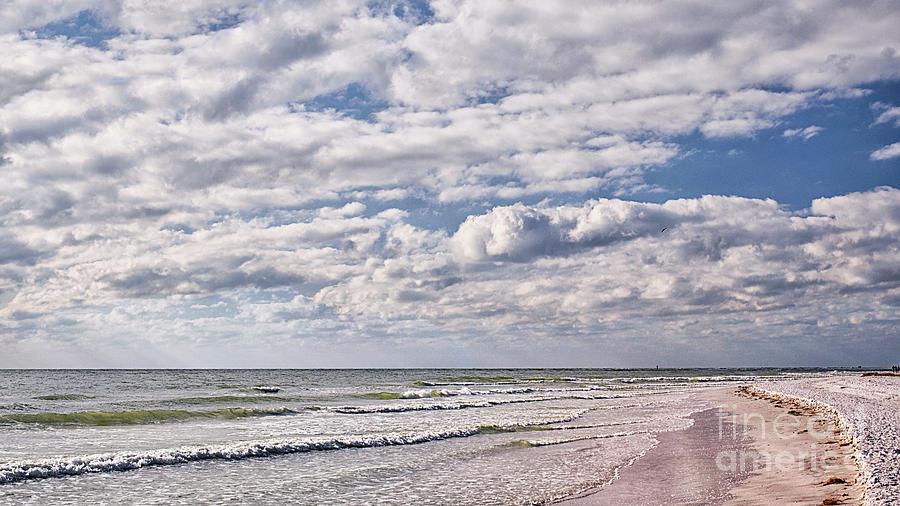 Sky And Lido Beach Photograph