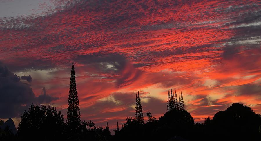 Sky Vortex Over Kauai Photograph