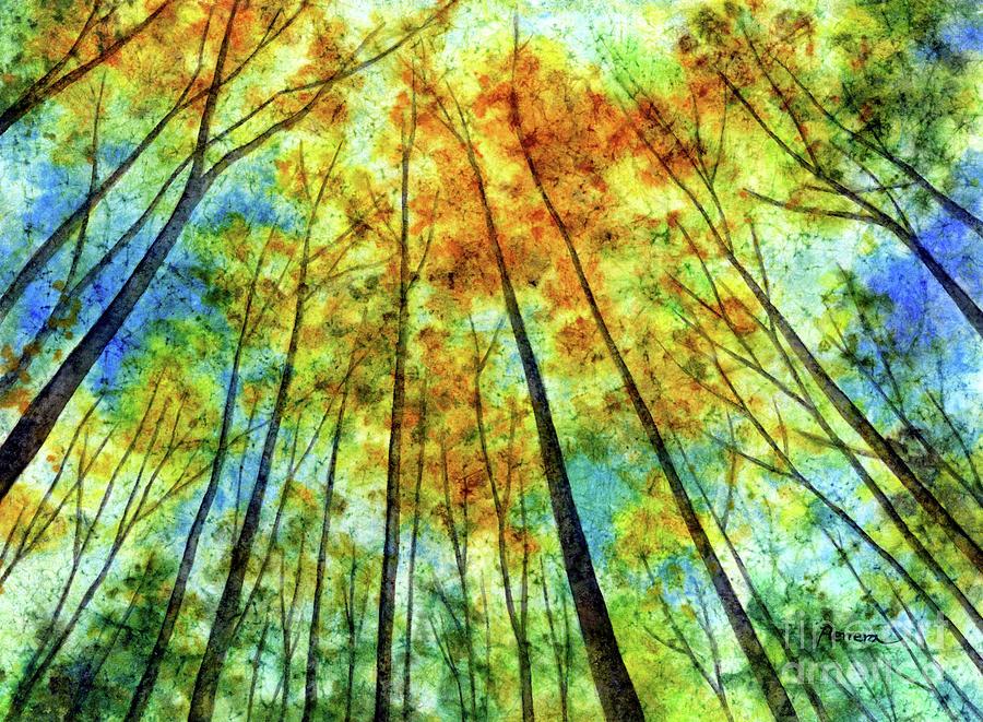 Sky Waltz-pastel Colors Painting
