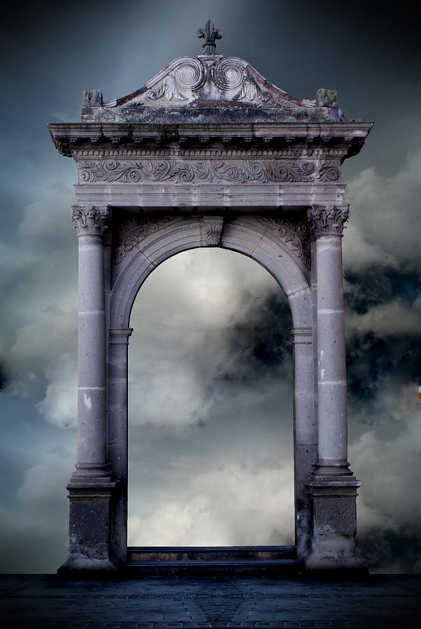 Gate Digital Art - Skygate by Oscar Vago