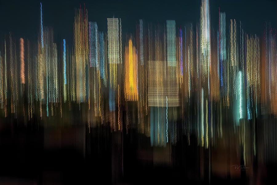 Skyline Lights by Bill Posner