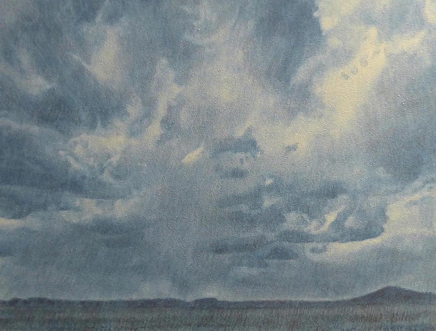 North Dakota Painting - Skymight by Cris Fulton