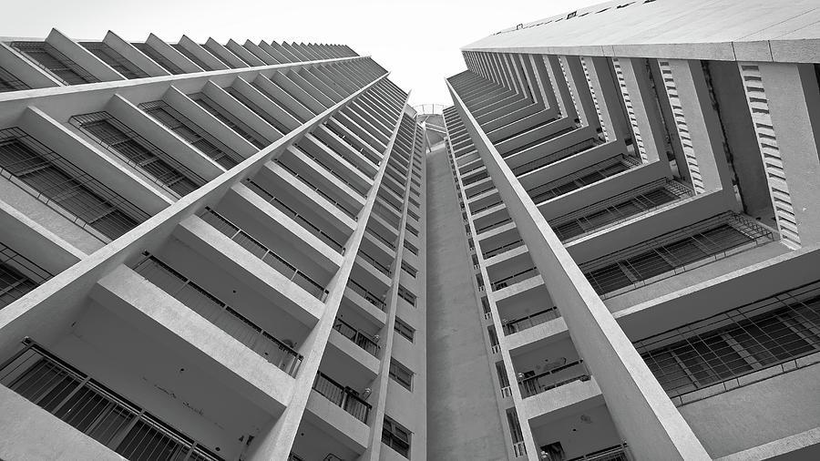 Skyscraper tower produces fantastic designs by Santosh Puthran
