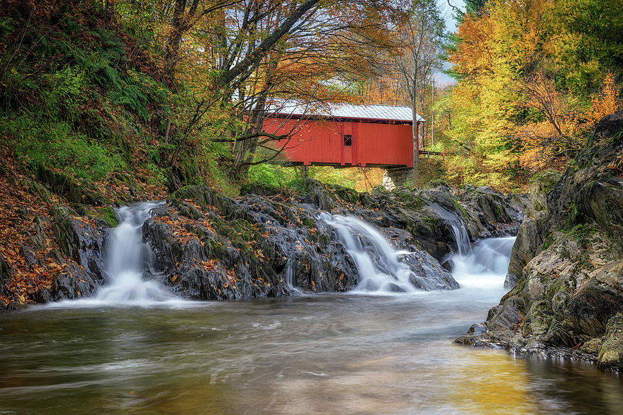 Slaughter House Covered Bridge by Rick Berk