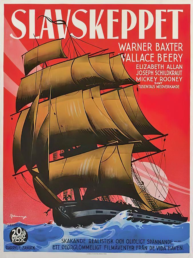 slave Ship, 1937 Mixed Media