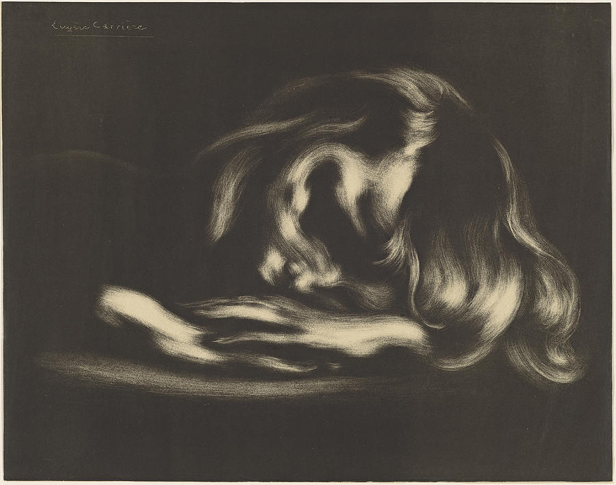 Sleep by Eugene Carriere
