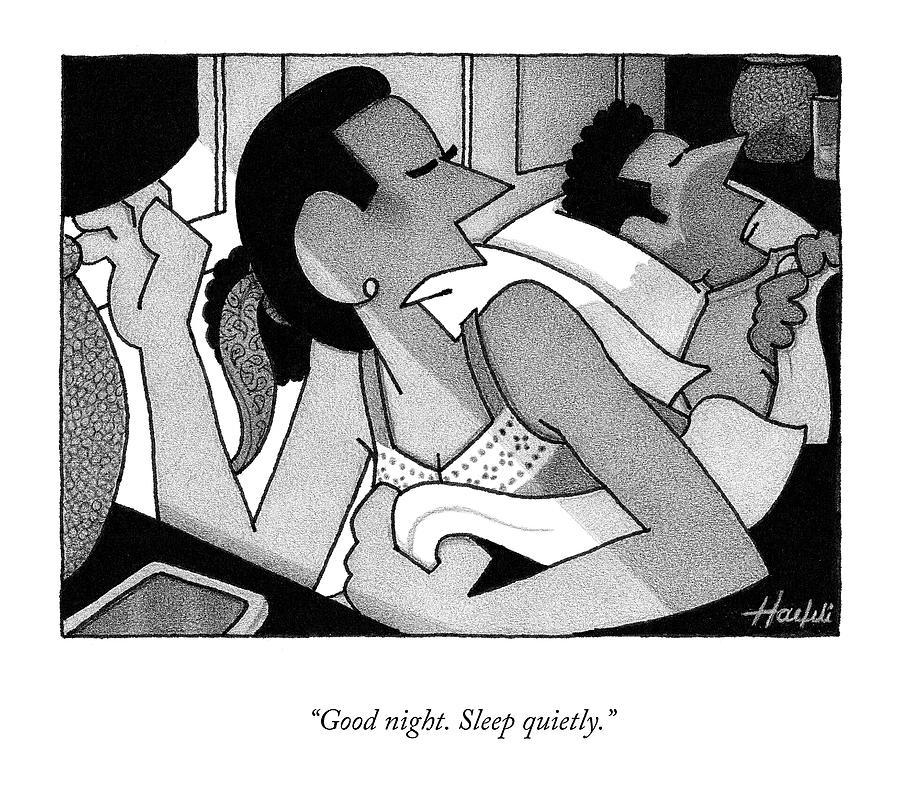 Sleep Quietly Drawing by William Haefeli