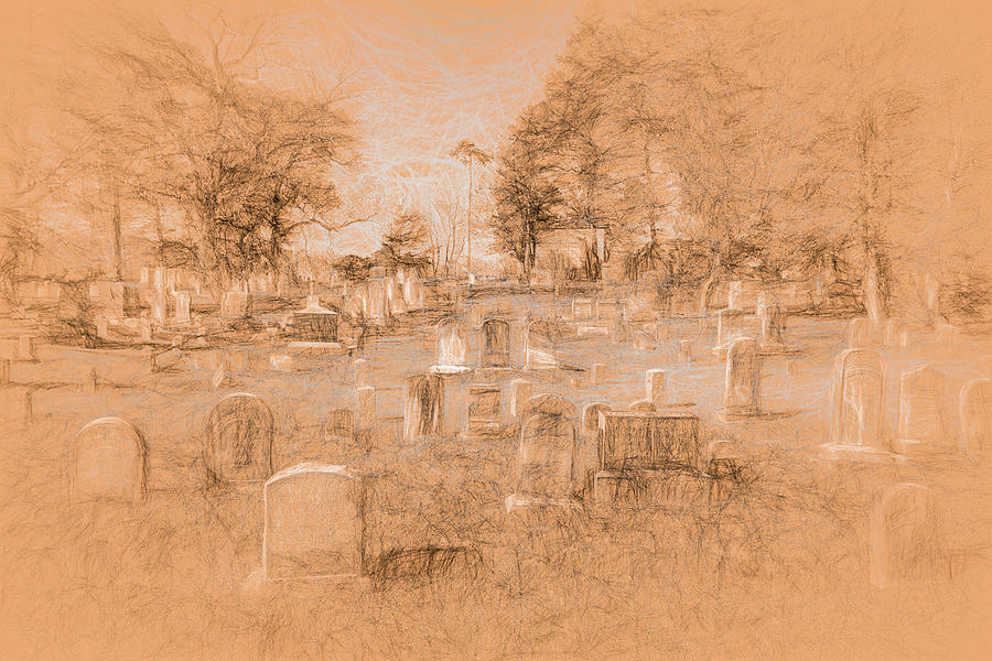 Sleepy Hollow Cemetery da Vinci  by David Pyatt