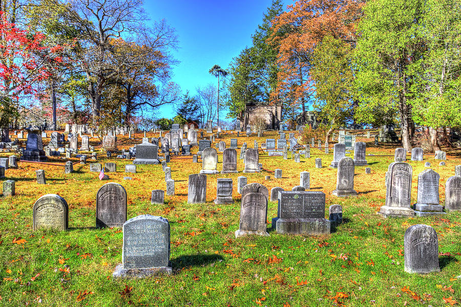 Sleepy Hollow Cemetery  by David Pyatt