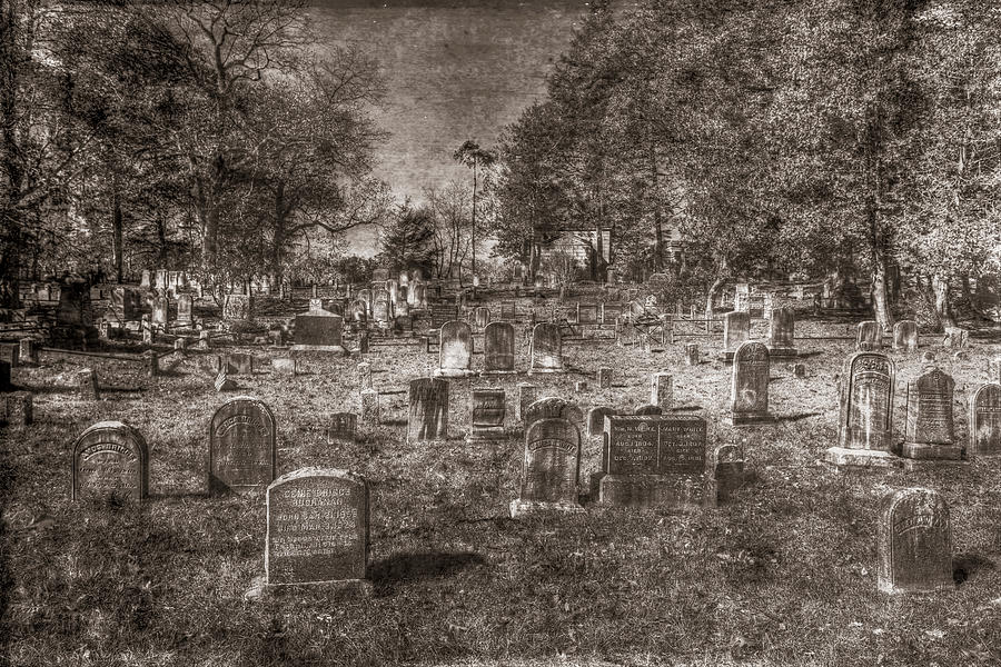 Sleepy Hollow Cemetery New York Vintage by David Pyatt