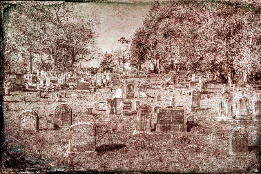 Sleepy Hollow Cemetery Vintage by David Pyatt