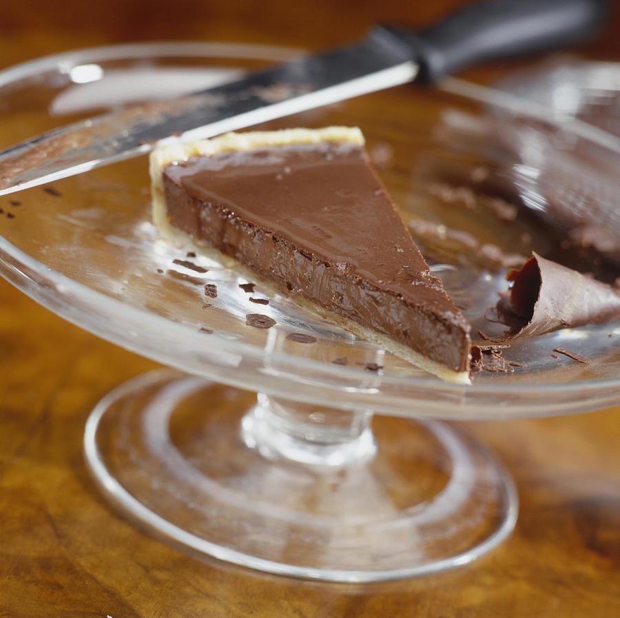 Slice of Chocolate Cheesecake Photograph by Heidi Coppock-Beard